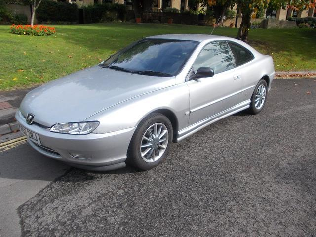 used 2003 peugeot 406 coupe grey edition 2 2 hdi silver. Black Bedroom Furniture Sets. Home Design Ideas