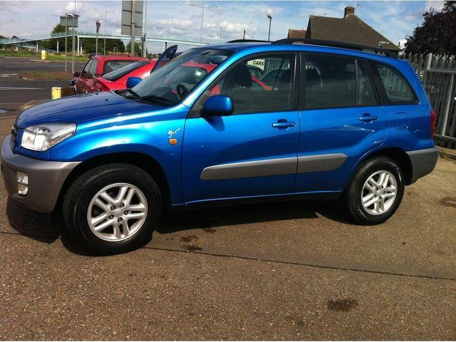 used toyota rav4 2003 petrol 2 0 gx 5dr 4x4 blue manual for sale in ashford uk autopazar. Black Bedroom Furniture Sets. Home Design Ideas