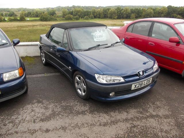 Used Peugeot 306 2001 Blue Convertible Petrol Manual for Sale