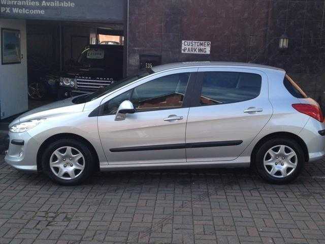 used peugeot 308 2008 diesel 1 6 hdi 90 s hatchback silver manual for sale in stockport uk. Black Bedroom Furniture Sets. Home Design Ideas