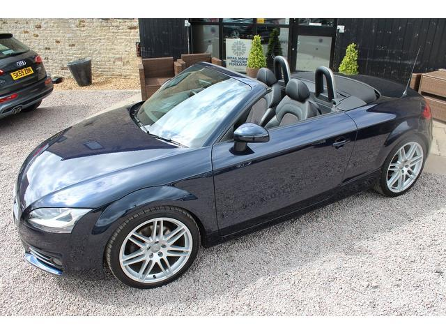 used 2010 audi tt convertible blue edition 2 0 tdi quattro s diesel for sale in kettering uk. Black Bedroom Furniture Sets. Home Design Ideas