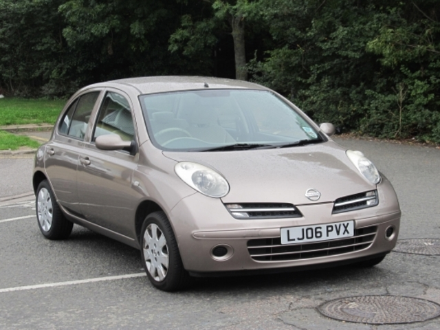Used Nissan Micra 2006 Beige  Petrol Automatic for Sale