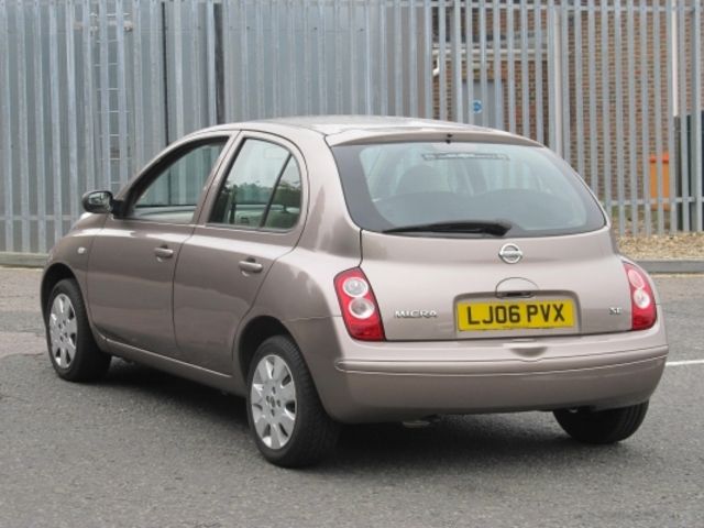 Used Nissan Micra  Beige 2006 Petrol for Sale in UK