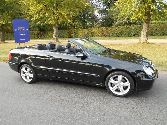 Used Mercedes Benz 2004 Black Convertible Petrol Automatic for Sale