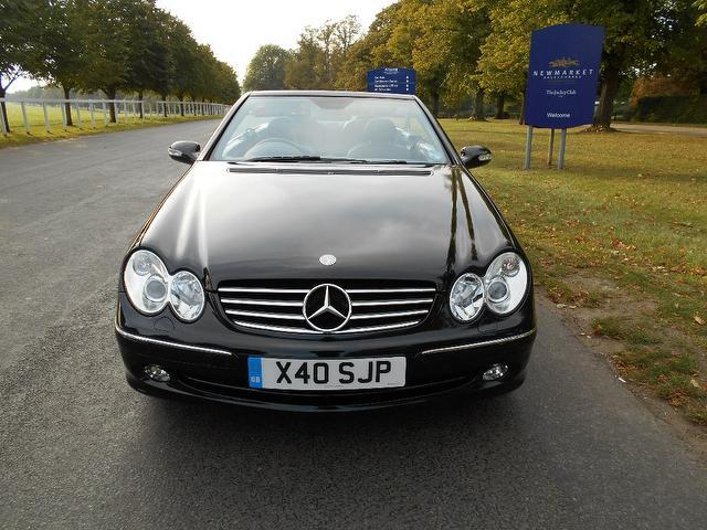 Used mercedes benz car 2004 black petrol 320 avantgarde 2 for Used mercedes benz convertible for sale by owner