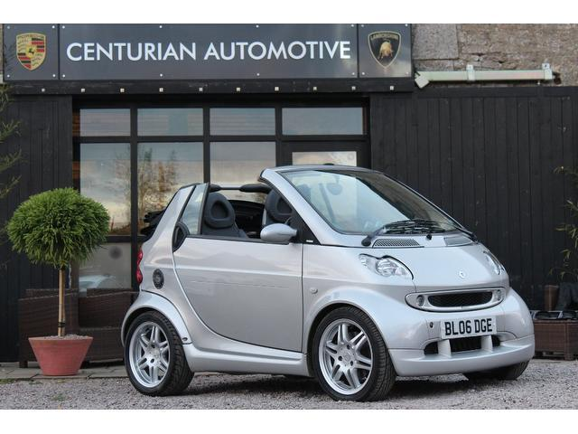 used 2006 smart fortwo convertible brabus 2dr auto 0 7 petrol for sale in kettering uk autopazar. Black Bedroom Furniture Sets. Home Design Ideas