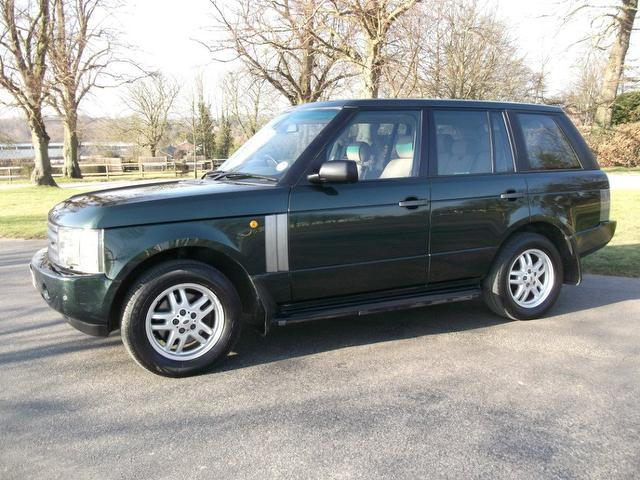 used green land rover range 2003 diesel 3 0 td6 4x4 excellent condition for sale autopazar. Black Bedroom Furniture Sets. Home Design Ideas