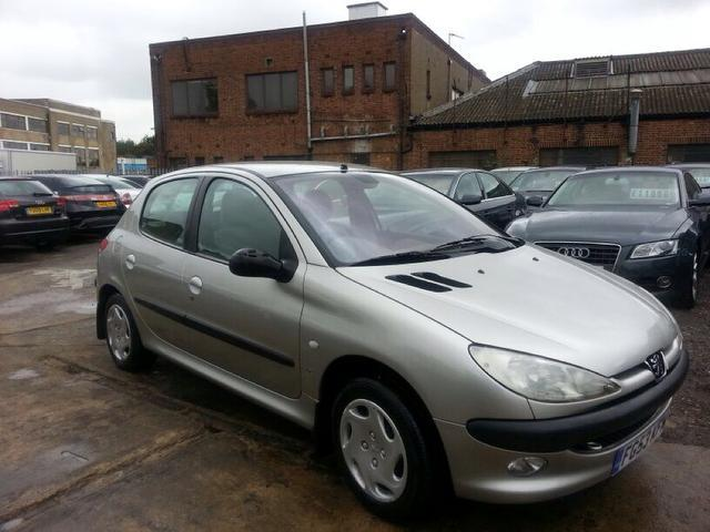 Used Peugeot 206 2003 Grey Hatchback Diesel Manual for Sale