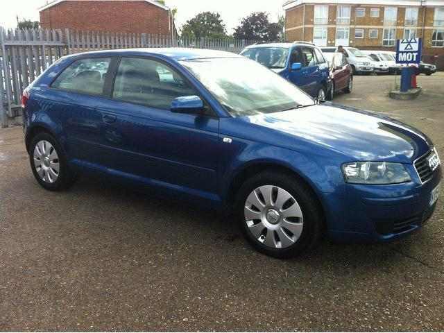 used audi a3 2005 petrol 1 6 special edition 3dr hatchback blue manual for sale in ashford uk. Black Bedroom Furniture Sets. Home Design Ideas