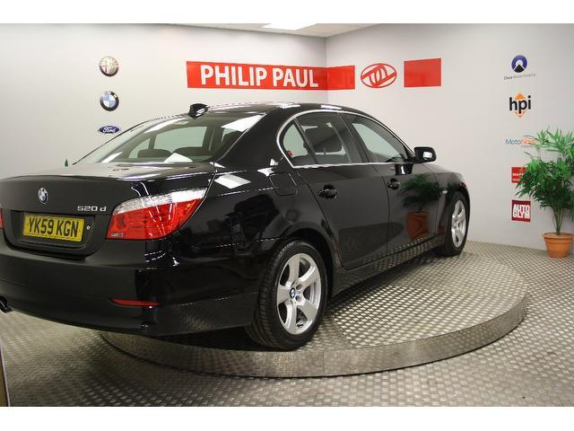 Used Bmw 5 Series 2009 Diesel 520d Se 4dr Saloon Black Edition For ...