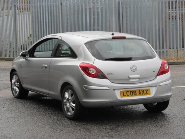Used Vauxhall Corsa 2008 Model Petrol Silver For Sale In