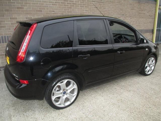 used ford c max 2008 manual diesel titanium 5 door lux black for sale uk autopazar. Black Bedroom Furniture Sets. Home Design Ideas