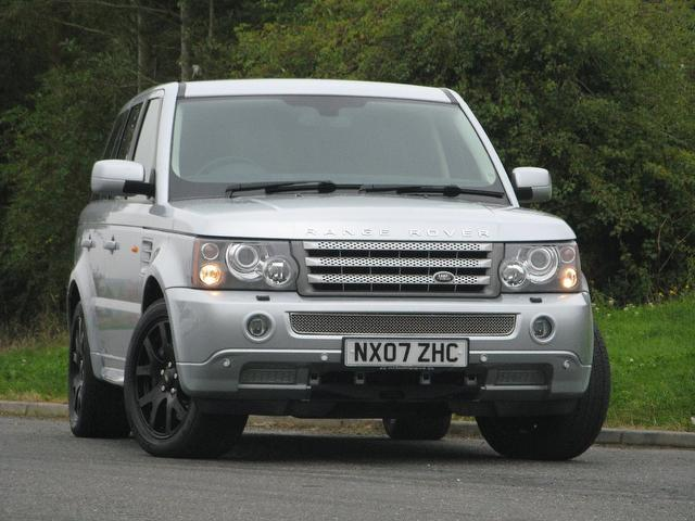 used land rover range 2007 automatic diesel sport 2 7 silver for sale uk autopazar. Black Bedroom Furniture Sets. Home Design Ideas