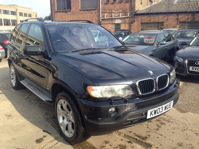 used bmw x5 2003 diesel sport 5dr with 4x4 black roof rails for sale autopazar. Black Bedroom Furniture Sets. Home Design Ideas