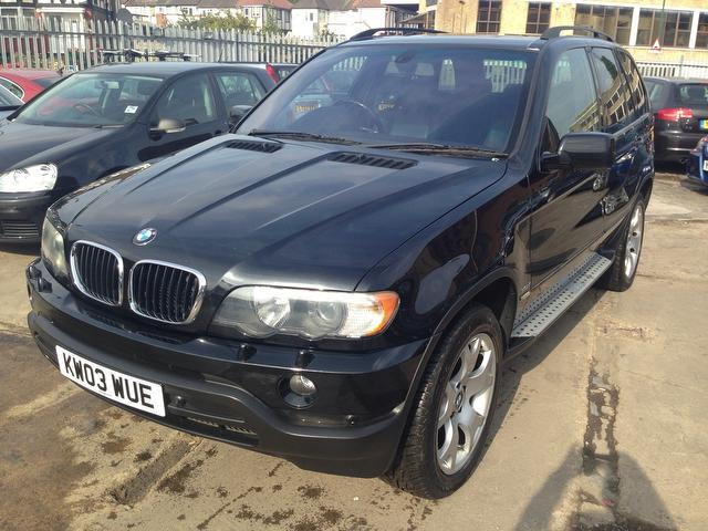 Used Bmw X5 3.0d Sport 5 Door With 4x4 Black 2003 Diesel for Sale in UK