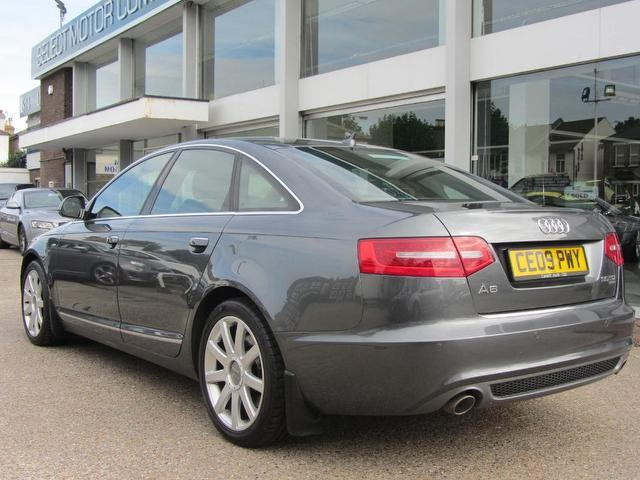 Used Audi A6 3.0 Tdi Quattro S Saloon Grey 2009 Diesel for Sale in UK