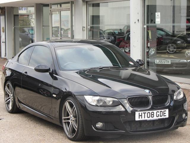 used bmw 3 series 2008 diesel 335d m sport coupe black edition for sale in sevenoaks uk autopazar. Black Bedroom Furniture Sets. Home Design Ideas