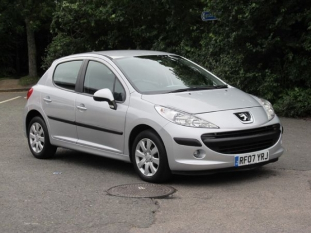 used peugeot 207 2007 petrol silver manual for sale in. Black Bedroom Furniture Sets. Home Design Ideas