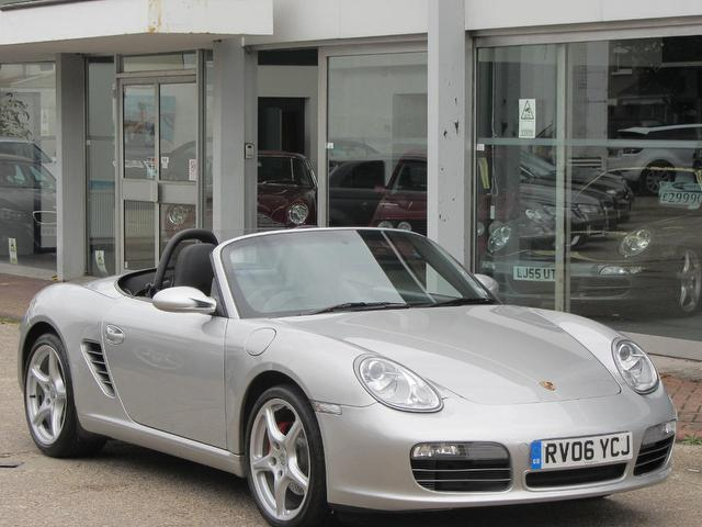 Used Porsche Boxster 2006 Silver Convertible Petrol Manual for Sale