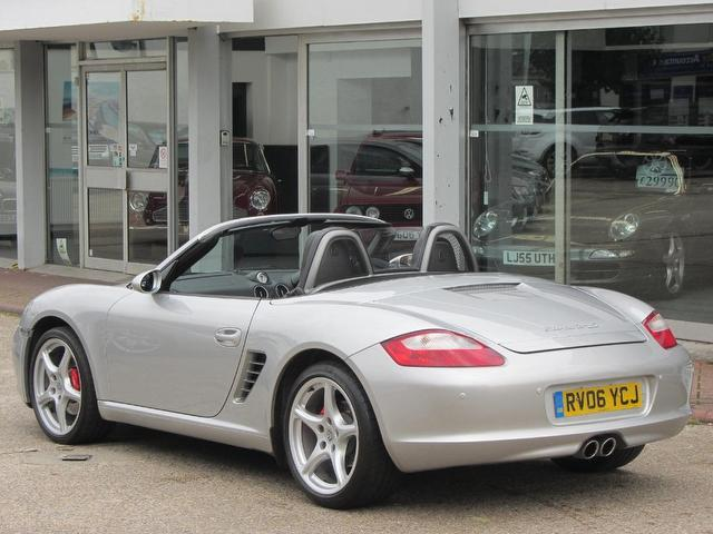 Used Porsche Boxster 3.2 S 2 Door Huge Convertible Silver 2006 Petrol for Sale in UK