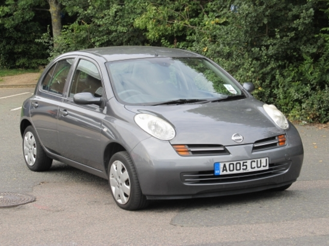 Used Nissan Micra 2005 Grey  Petrol Automatic for Sale