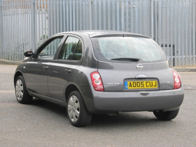 Used Nissan Micra  Grey 2005 Petrol for Sale in UK