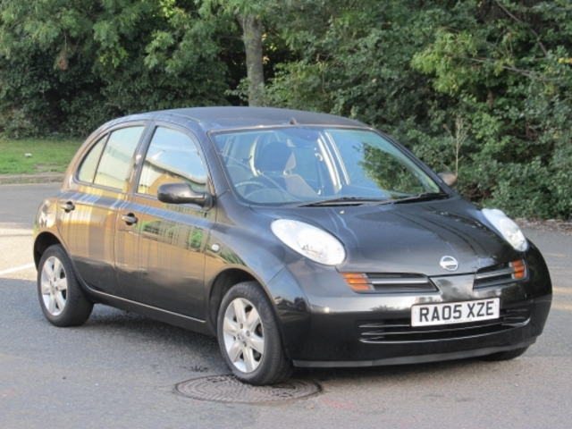 Used Nissan Micra 2005 Black  Petrol Automatic for Sale