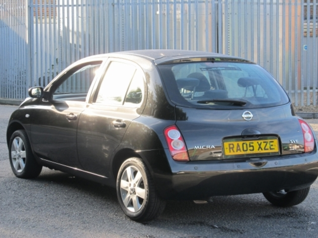 used nissan micra 2005 petrol black with for sale autopazar. Black Bedroom Furniture Sets. Home Design Ideas