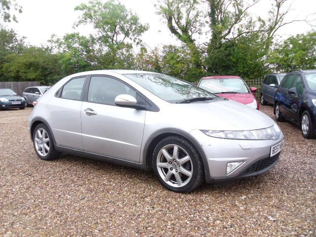 used 2007 honda civic hatchback silver edition 2 2 i ctdi ex 5dr diesel for sale in nuneaton uk. Black Bedroom Furniture Sets. Home Design Ideas