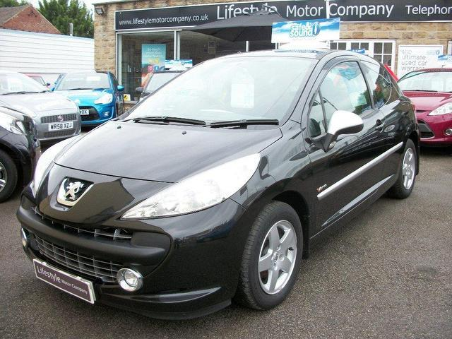 used peugeot 207 2009 diesel 1 4 hdi verve 3dr hatchback black manual for sale in wakefield uk. Black Bedroom Furniture Sets. Home Design Ideas