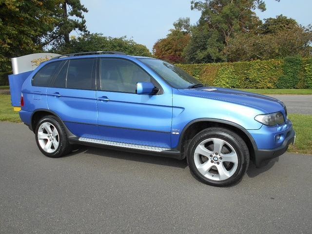 Used Bmw X5 2005 Blue 4x4 Diesel Automatic for Sale
