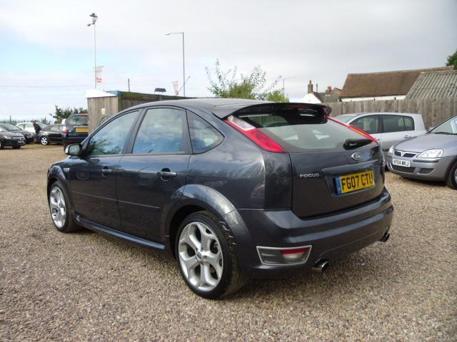 used ford focus 2007 petrol 2 5 st 2 5dr with hatchback grey edition for sale in nuneaton uk. Black Bedroom Furniture Sets. Home Design Ideas