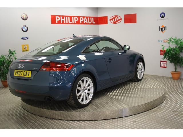 used audi tt 2007 manual petrol 3 2 v6 quattro 2 door blue. Black Bedroom Furniture Sets. Home Design Ideas