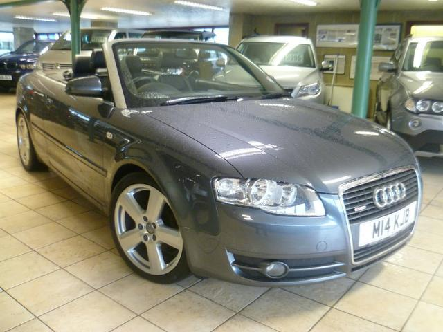 Used Audi A4 2007 Grey Convertible Diesel Manual for Sale