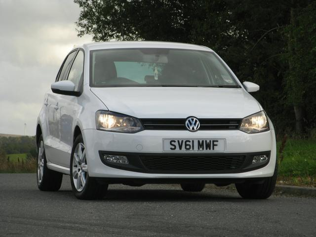 Used Volkswagen Polo 1.2 60 Match 5 Door Hatchback White 2011 Petrol for Sale in UK