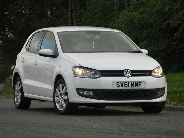 Used Volkswagen Polo 2011 White Hatchback Petrol Manual for Sale