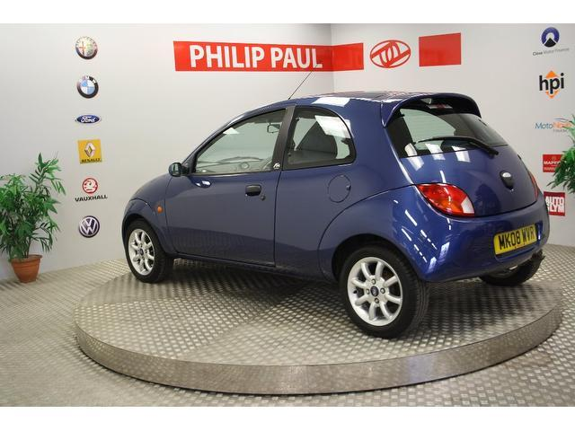 used ford ka 2008 manual petrol zetec 70 3 door blue for sale uk autopazar. Black Bedroom Furniture Sets. Home Design Ideas