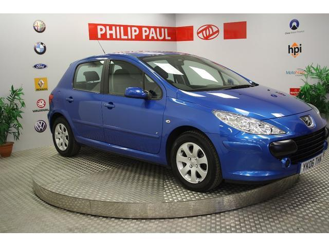 Used Peugeot 307 2006 Blue Hatchback Petrol Manual for Sale