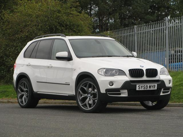 Used Bmw X5 2009 White 4x4 Diesel Automatic for Sale