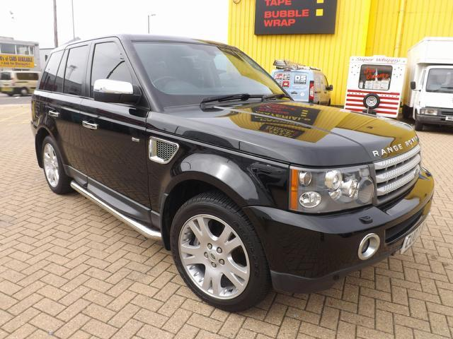 used land rover range 2007 automatic diesel sport 2 7 black for sale uk autopazar. Black Bedroom Furniture Sets. Home Design Ideas