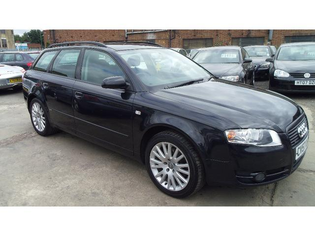 Used Audi A4 2007 Black Estate Diesel Manual for Sale