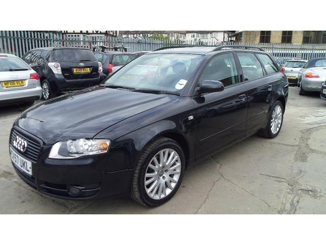 Used Audi A4 2.0 Tdi 170 Se Estate Black 2007 Diesel for Sale in UK