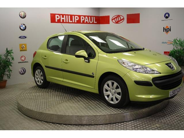 Used Peugeot 207 2007 Yellow Hatchback Petrol Manual for Sale