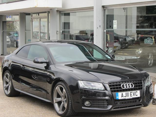 Used Audi A5 2011 Black Paint Petrol 2 0t Fsi Edition