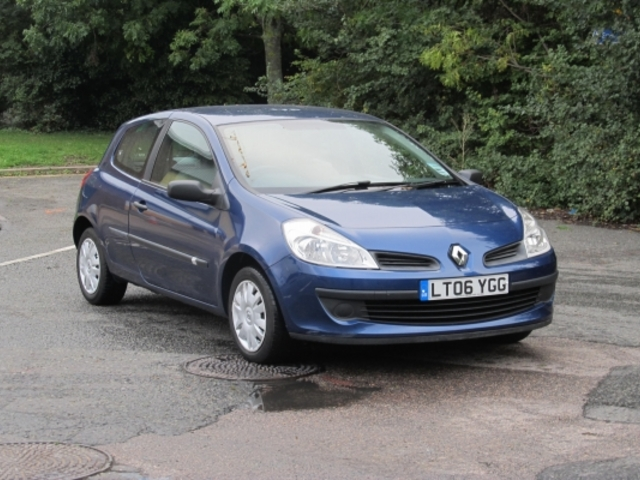 Used Renault Clio 2006 Blue  Petrol Manual for Sale