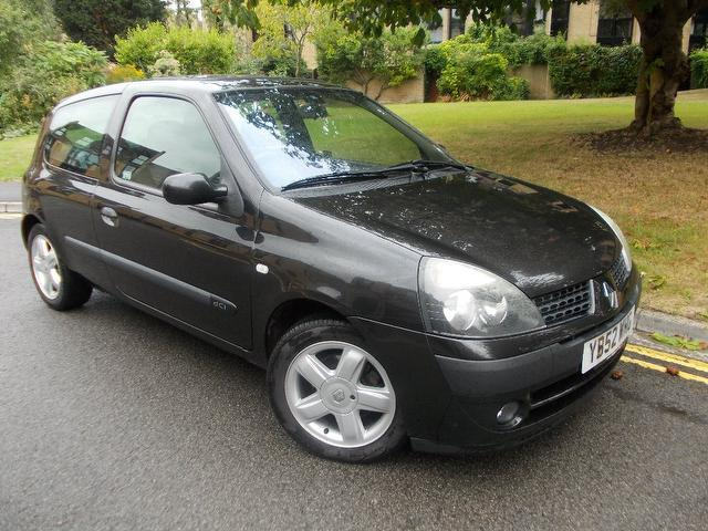 Used Renault Clio 2003 Black Hatchback Diesel Manual for Sale