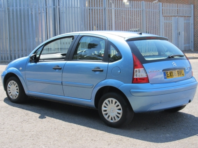 used citroen c3 2006 unleaded blue manual for sale in. Black Bedroom Furniture Sets. Home Design Ideas