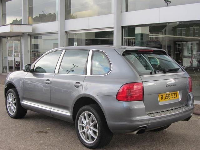 Used Porsche Cayenne 5 Door Tiptronic S 3.2 4x4 Silver 2006 Petrol for Sale in UK