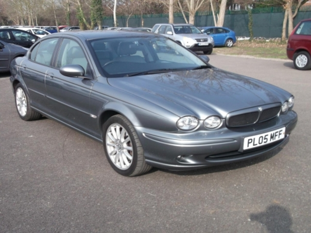 used jaguar x type 2005 unleaded grey manual for sale in. Black Bedroom Furniture Sets. Home Design Ideas