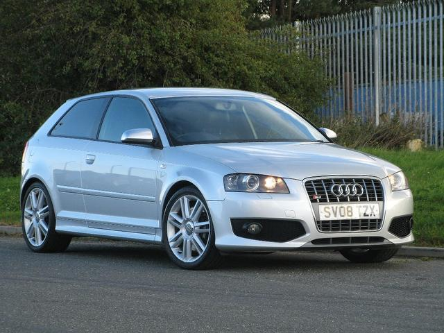 Used 2008 Audi S3 Hatchback Silver Edition Quattro 3dr 2 0